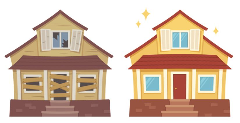flipping a home
