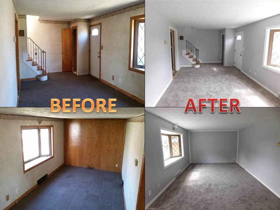 Bringing New Life To Foreclosed Homes!